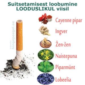 Suitsetamisest loobumine