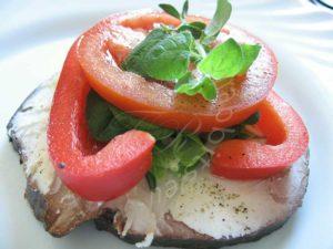 Paprika ja tomativõileib