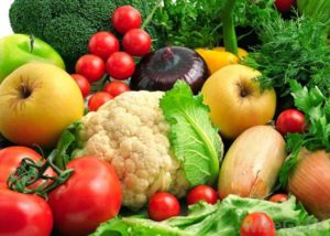 Köögiviljad ja puuvilad kiudaineteks