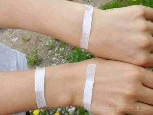 Käed pärast arsti külastamist