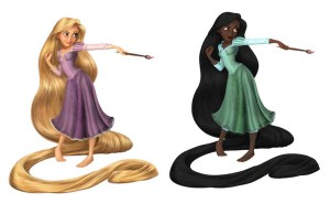 Mis siis kui Rapunzel oleks mustanahaline?Foto: Deviant Art