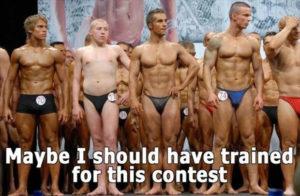 Äkki oleksin pidanud selleks võistluseks treenima? Foto: Funny As Duck