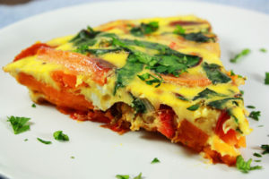 Mehhiklaste hommikusöök - frittata. Foto: Tastebook