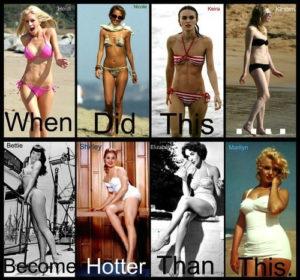 Millal muutus ülemine rida seksikamaks kui alumine... Foto: Blisstree