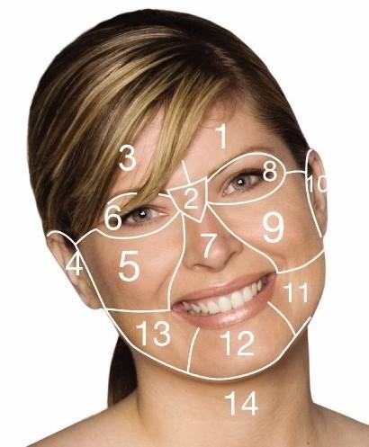 Kaardistatud nägu