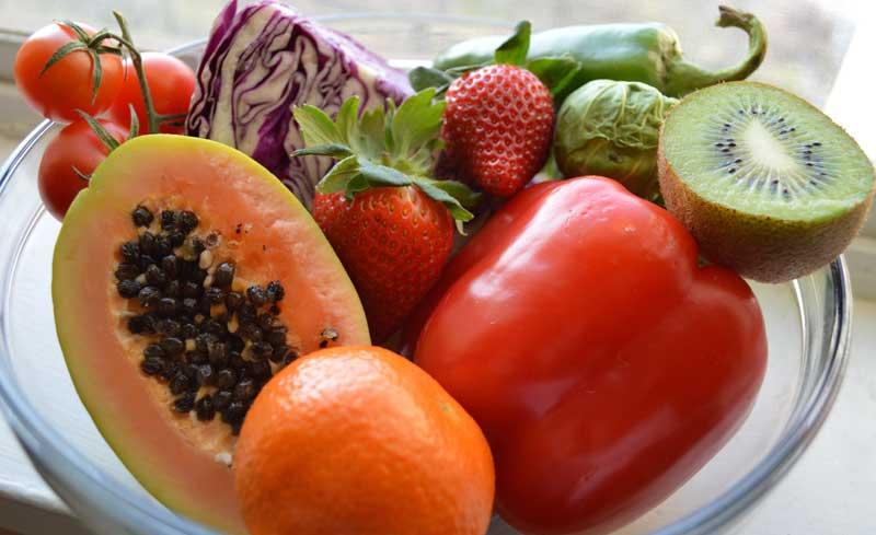 C-vitamiinirikkad toidud Foto: Simply Nutricising