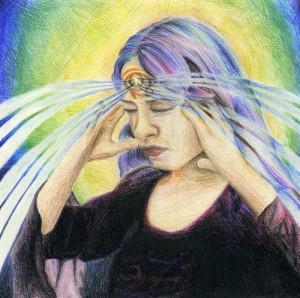 Kolmanda silma tšakra Foto: psychedelics