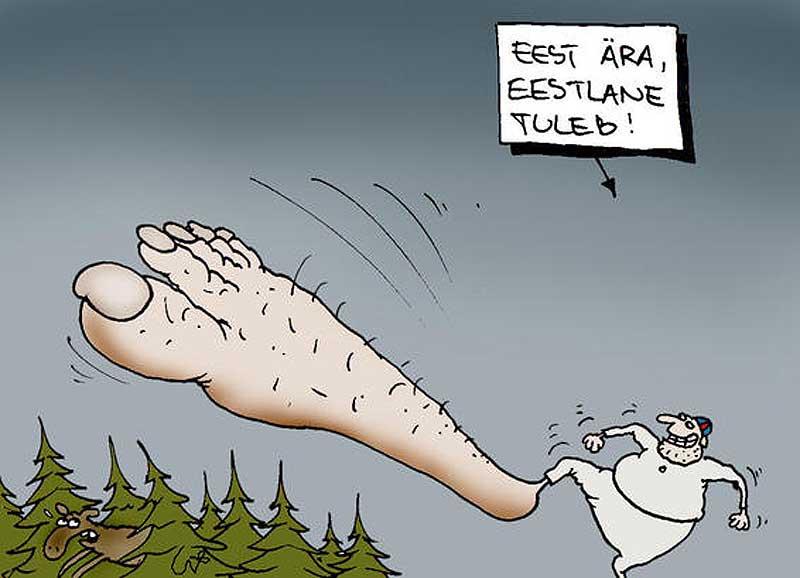 eb0f22eaec5 Karikatuur: Urmas Nemvalts Karikatuur: Urmas Nemvalts. Eestlaste ökoloogiline  jalajälg ...
