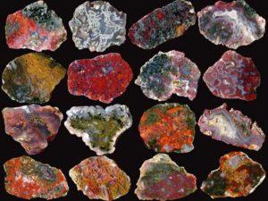 Erinevad ahhaadid Foto: Mineral Tivadar
