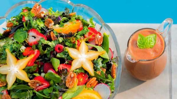 Toorjäätis salatiga Foto: Swagbucks TV
