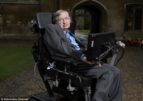 Stephen Hawkins Foto: dailymail.co.uk