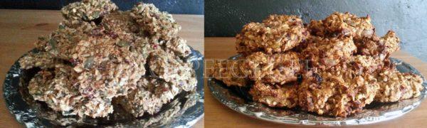 Vasakul toor- ja paremal küpsetatud kaeraküpsised