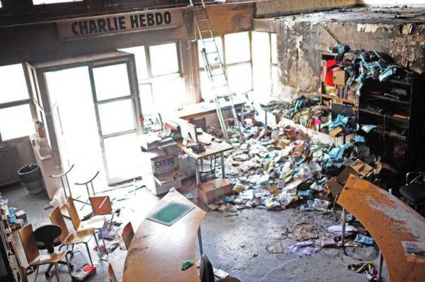 Charlie Hebdo Foto: NY Daily News