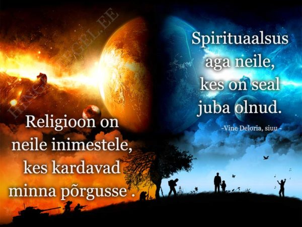 religioon vs spirituaalsus